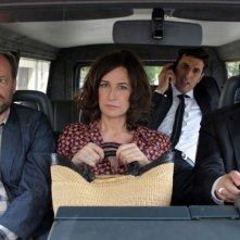 Granny's Funeral: Denis Podalydès insieme a Valérie Lemercier, Samir Guesmi e Bruno Podalydès in una scena del film