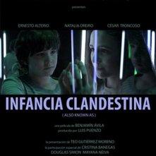 Infancia clandestina: il poster del film