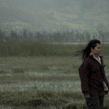 La Sirga: Joghis Seudin Arias in una scena del film