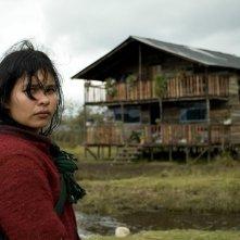 La Sirga: la protagonista Joghis Seudin Arias in una scena del film
