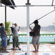 Mekong Hotel: il regista Apichatpong Weerasethakul sul set del film