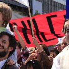No: Gael García Bernal in una scena del film
