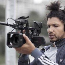 Rengaine: il regista del film Rachid Djaïdani sul set