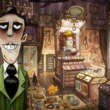 Le magasin des suicides: una scena del film d'animazione