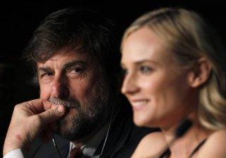 Cannes 2012: il presidente della giuria Nanni Moretti, con Diane Kruger