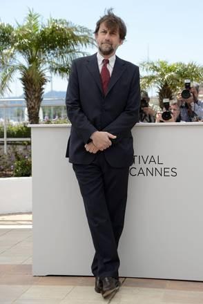 Cannes 2012: il presidente della giuria Nanni Moretti, posa per i fotografi