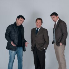 Fallo per Papà: Ciro Ceruti, Ciro Villano e Giacomo Rizzo in una foto promozionale del film