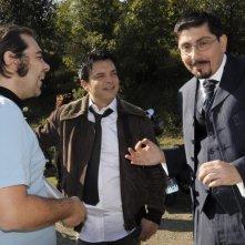 Fallo per Papà: Ciro Ceruti e Ciro Villano, protagonisti e registi del film, sul set