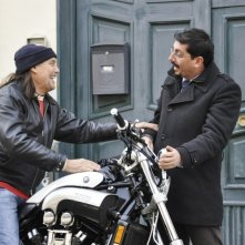 Fallo per Papà: Ciro Villano con Massimo Bonetti in una scena del film