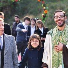 Fallo per Papà: Salvio Simeoli insieme a Giacomo Rizzo in una scena del film