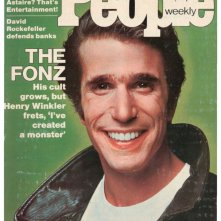 Henry Winkler è Fonzie in una copertina di People dedicata al fenomeno Happy Days