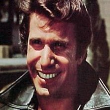 Henry Winkler è Fonzie nel serial cult Happy Days