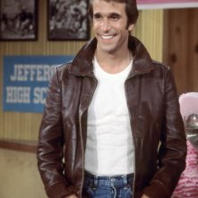 Henry Winkler è Fonzie nel serial televisivo Happy Days