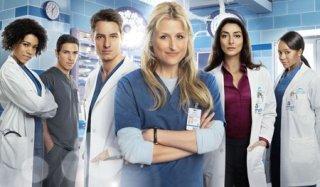 Una foto promozionale per la serie tv Emily Owens, M.D.