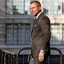 007 - Skyfall: Daniel Craig, in una scena del film, di nuovo nei panni di James Bond