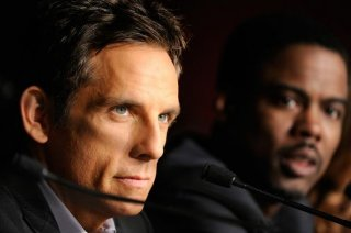 Ben Stiller e Chris Rock a cannes durante la conferenza stampa di Madagascar 3: ricercati in Europa