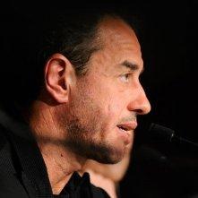 Matteo Garrone a Cannes durante la conferenza stampa di Reality