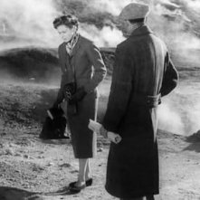 Ingrid Bergman e George Sanders in un'immagine di Viaggio in Italia
