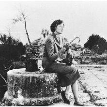 Ingrid Bergman in un'immagine di Viaggio in Italia