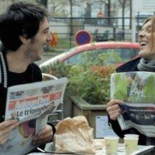 La guerra è dichiarata: Jérémie Elkaïm e Valérie Donzelli in una scena