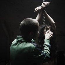 Paura: Lorenzo Pedrotti insieme a Francesca Cuttica in una scena del film