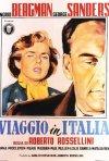 Viaggio in Italia: ecco la locandina italiana