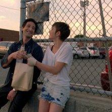 Adrien Brody in una scena del film Detachment - Il distacco con Sami Gayle