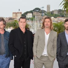 Ben Mendelsohn, Ray Liotta, Brad Pitt e Scoot McNairy a Cannes al photocall di Killing Them Softly
