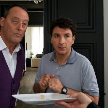 Chef: Jean Reno insieme a Michaël Youn in una scena della commedia culinaria