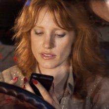 Jessica Chastain in una scena de Le paludi della morte