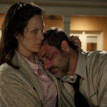 Le paludi della morte: Jeffrey Dean Morgan e Annabeth Gish in una scena del film