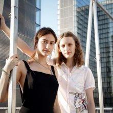 Un amore di gioventù: la regista Mia Hansen-Løve in una foto promozionale con la protagonista Lola Creton
