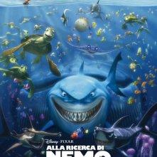 Alla ricerca di Nemo in 3D: la locandina italiana del film per la prima volta in versione 3D