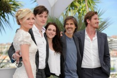 Kristen Stewart, Viggo Mortensen e Walter Salles On the Road a Cannes