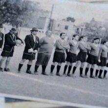 Il mundial dimenticato: una foto che ritrae la nazionale italiana di calcio inviata in Patagonia nel 1942