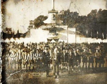Il mundial dimenticato: unica foto ufficiale del mundial di calcio di Patagonia nel 1942 su cui è incentrato il film