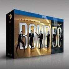 La copertina di Bond 50 (blu-ray)