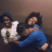 Marley: Bob Marley con le figlie Sharon e Diana in un momento del documentario sulla sua breve ma intensa vita