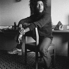 Marley: Bob Marley in tutto il suo fascino in un'immagine tratta dal documentario sulla sua vita