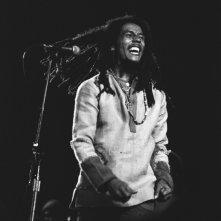 Marley: il mitico Bob Marley immortalato in tutta la sua solarità in una scena del documentario