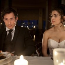 Qualche nuvola: Michele Alhaique e Greta Scarano in una scena del film