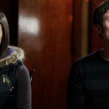Qualche nuvola: Michele Alhaique e Greta Scarano si ignorano in una scena del film