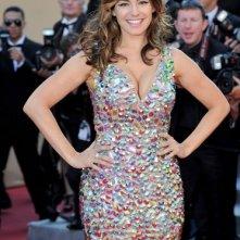 Kelly Brook sul red carpet di Cannes 2012, prima della premiere di Killing Them Softly