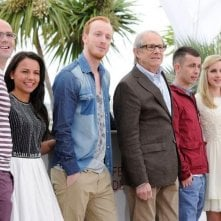 The Angels' Share: il cast del film insieme a Ken Loach durante il photocall di Cannes 2012
