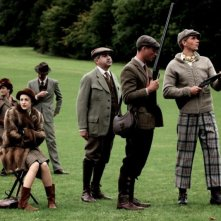 Edward e Wallis: James D'Arcy insieme a Andrea Riseborough durante una battuta di caccia