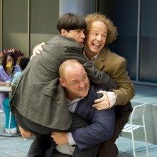 I tre marmittoni: i burloni Sean Hayes, Will Sasso e Chris Diamantopoulos in una scena
