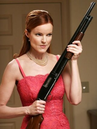 Marcia Cross è Bree Van De Kamp in Desperate Housewives