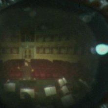 L'occhio di uno dei corvi del film Opera (1987)