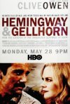 Hemingway & Gellhorn: ecco la locandina