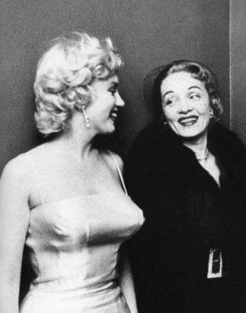 Marlene Dietrich e Marilyn Monroe (1955)